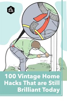 These tips and tricks for the home have been passed down from generation to generation, but do they still hold up today? You better believe it! Outdoor Projects, Diy Projects, Buying A New Home, Home Hacks, First Home, Organization Hacks, Breads, Advice, Tools