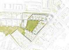 Prize group 1st Stage: Übersichtsplan M 1000, © Burger Landschaftsarchitekten Partnerschaft, deffner voitländer architekten