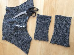 """5 Items For Your Winter Home From ONE Thrift Store Sweater!"" (Part 5)"