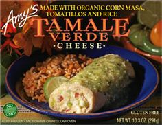 All the ingredients for our Cheese Tamales are carefully selected and prepared. The organic masa (ground and cooked corn) is poured onto individual parchments, filled with a mixture of Monterey Jack cheese, chilis and jalapeños, and then folded and steamed. The tamales are then unwrapped by hand, topped with our delicious verde sauce and served with a side of Spanish rice made from organic brown rice and organic black beans.