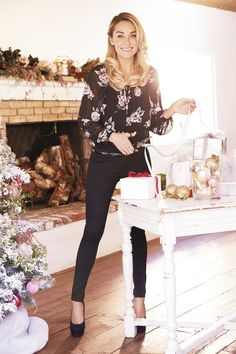 Black and blooms. LC Lauren Conrad at #Kohls