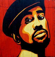 Cool Black Guy - Graffiti Style