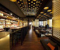 W Hotel London Interior - Restaurant