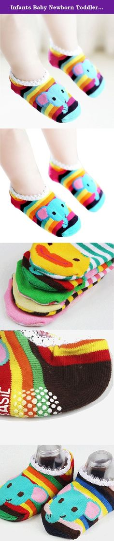 Infants Baby Newborn Toddler Cotton Socks Kids Children Slipper Floor Socks, Multi, S. Our developer for kid socks is also a mother who will have little kid next year. We care about the quality, the composition and the content of the socks thus we try our best to provide every cute and lovely soft cotton socks for the kids. We want to provide the best safe products for our kids and we want to add joy to their colorful world. That's the goal for us to develop different pattern socks. Most...