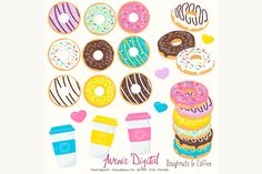 10 Donut Projects and Printables | www.dawnnicoledesigns.com