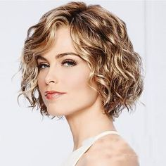Short Curly Haircuts, Curly Hair Cuts, Curly Bob Hairstyles, Curly Hair Styles, Perms For Short Hair, Wedding Hairstyles, Natural Wavy Hairstyles, Short Curly Cuts, Short Wavy Bob