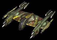 Xanadu Blood - Cad Bane's Rogue-class starfighter