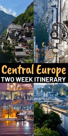 Planning to spend two weeks in Europe? With this Central Europe itinerary (that's perfect for a road trip), you'll see fabulous destinations. #Europe #EuropeTravel #CentralEurope #Austria #CzechRepublic