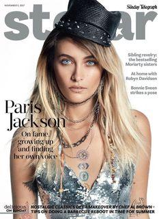 Paris Jackson posa con estilos glam para la revista  Stellar