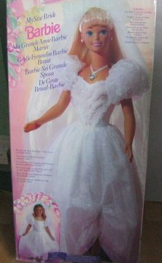 My Size Bride Barbie in Dolls & Bears, Dolls, Clothing & Accessories, Fashion, Character, Play Dolls | eBay