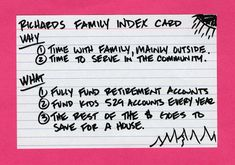 """Index-Card Advice - Carl Richards, New York Times contributor and author of """"The One-Page Financial - The New York Times"""