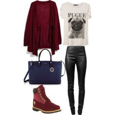 A fashion look from October 2014 featuring MANGO cardigans, Alexander Wang leggings and Timberland ankle booties. Browse and shop related looks.
