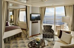 Most Luxurious Cruise Cabins | http://www.ealuxe.com/most-luxurious-cruise-cabins/