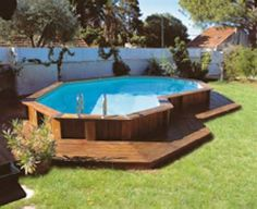so casual!! love it! Image detail for -Above Ground Pools Landscaping Ideas   Arizona Desert Landscape .com
