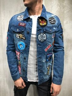 Patches Jacket IG 📸 @fashstop