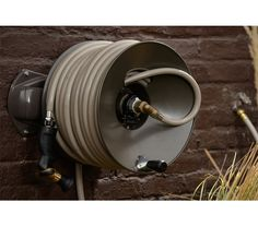 145 eley wall mount garden hose reel 10 yr warranty 150 ft can - Garden Hose Reels