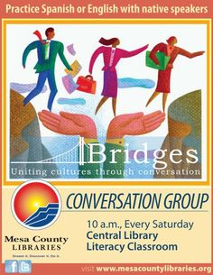 Spanish and English Conversation Group - Library Events - Mesa County Libraries