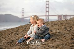 """The last time I photographed the """"S"""" family was on the beach in Capitola. This time we headed to San Francisco, and this time there's a bab. Beach Family Photos, Beach Photos, Couple Photos, Baker Beach, Family Portrait Poses, Beach Sessions, Family Photographer, Travel Destinations, Christmas 2019"""