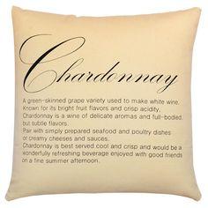 Chardonnay Pillow in Straw