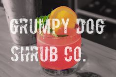 Grumpy Dog Shrub Co. Maker of Drinking Vinegars and Bloody Knuckles Bloody Mary Mix. #astoria #seaside