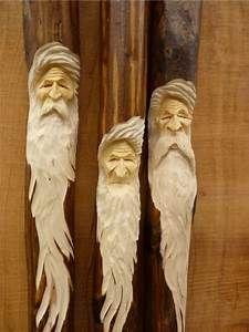Buy Wood Spirits, Carved Wooden Hiking Sticks, Walking ...