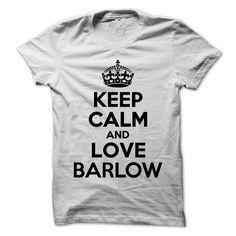 nice Keep Calm and Love BARLOW Best Price