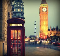 London in the perfect light!