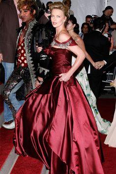John Galliano & Charlize Theron