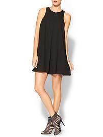 Everly Clothing Easy Pintucked Shift Dress