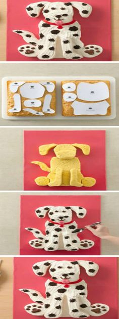 You are going to love this collection of Dog Cake Ideas for Birthdays and we hav. Puppy Birthday Cakes, Birthday Cake Pops, Dog Birthday, Birthday Ideas, Happy Birthday, Dog Cake Recipes, Peanut Butter Dog Treats, Puppy Cake, Cake Shapes