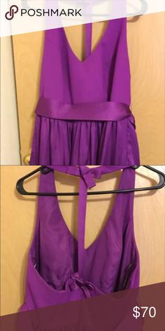 Vera Wang Bridesmaids Dress. Worn once. Size 16. Bought from Davids bridal Vera Wang Dresses Midi