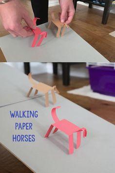 Walking Paper Horses