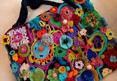 como unir peças de crochê - Pesquisa do Google