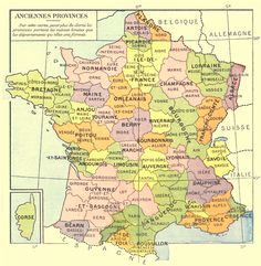Old provinces of France Champagne France, Genealogy Forms, Genealogy Sites, Provinces Of France, Geography Map, Republic Of Texas, France Map, Free In French, French History