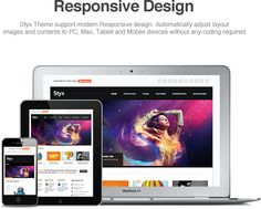 Another Responsive Wordpress theme
