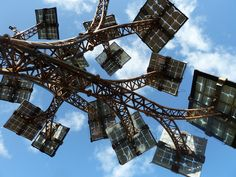 Solar Tree | from demandenergyequality.org (and artist John Packer)