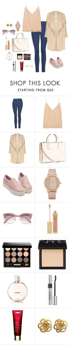 """""""M"""" by butnotperfect ❤ liked on Polyvore featuring Topshop, Balenciaga, River Island, H&M, ALDO, AERIN, Bobbi Brown Cosmetics, NARS Cosmetics, Christian Dior and Clarins"""