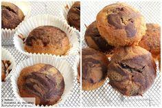 Receta de magdalenas mármol de vainilla y chocolate. Original receta para desayuno y merienda con las fotos paso a paso de su elaboración y...