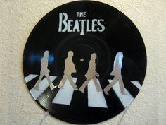 Retro Record Art