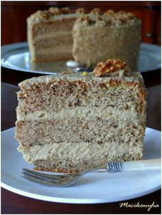 Sweet And Salty, Vanilla Cake, Fudge, Recipies, Sweets, Cakes, Pastries Recipes, Dios, Food Cakes