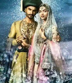 Ranveer Singh :* :*❤️❤️❤️♥ #BajiraoMastani #BajiraoPoster http://erosnow.com/#!/movie/watch/1023354/bajirao-mastani/6613129/exclusive---official-trailer?ap=1