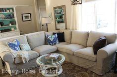 homey home design: The Couch Saga ikea ektorp