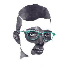 watercolor glasses