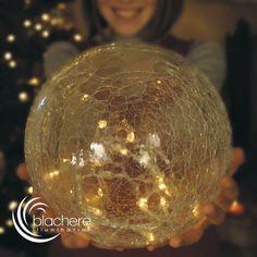 Assortiment de 3 boules de Noël Craquelées LED Or : choisissez parmi tous nos produits Elément de déco
