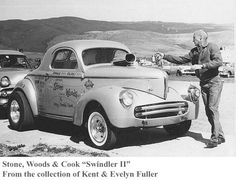 Stone, Woods and Cook, one of the best known gasser teams of the 60's.