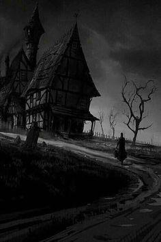 Haunted Estate  #haunted #haunting #hauntedplaces #hauntedhouses #darkart #spooky #mysterious #mystery #night #nighttime #creepy #creepyart #art #artwork Dark Photography, Macabre Photography, Dark Places, Haunted Places, Spooky Places, Creepy Houses, Haunted Houses, Haunted Mansion, Gothic Horror