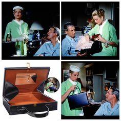 Grace Kelly As Lisa Fremont In Rear Window Please Note The Mark Cross Handbag Her Overnight Case Pinterest