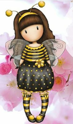 Gorgius Cute Images, Cute Pictures, Stitch Games, Decoupage, Fairy Art, Whimsical Art, Cute Dolls, Cute Cartoon, Cute Drawings