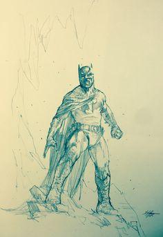 """Batman sketch"""