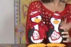 11/07/2013 Pinguim em feltro – Carmen Silvia - Feltro
